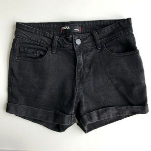 BDG Urban Outiftters Black Denim  Jeans Shorts 27